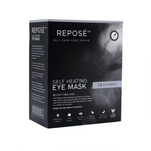 Self heating eye mask pack
