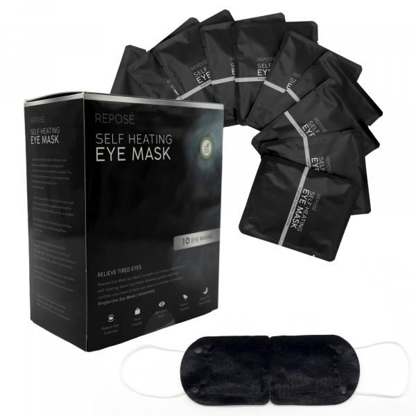 Reposé Self Heating Eye Mask | Eye Mask Warming Hot Steam Murah