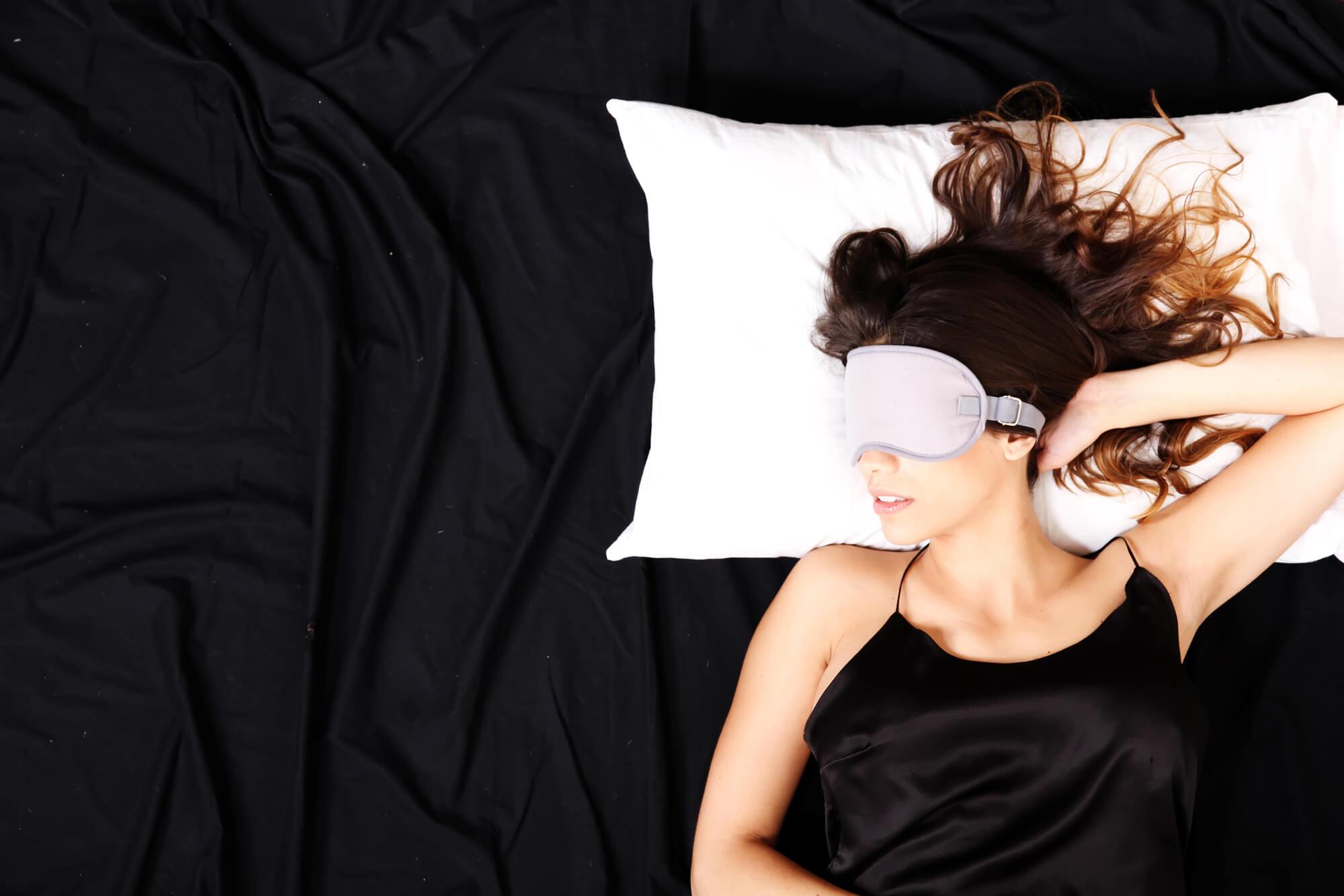 self-heating eye mask