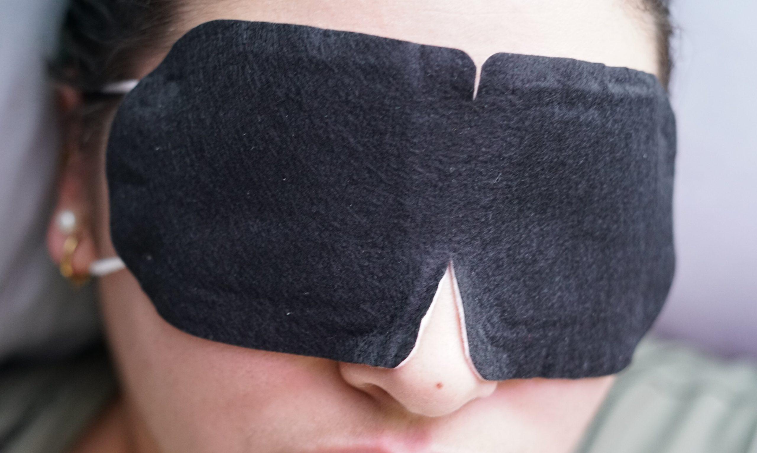 self-care eye mask